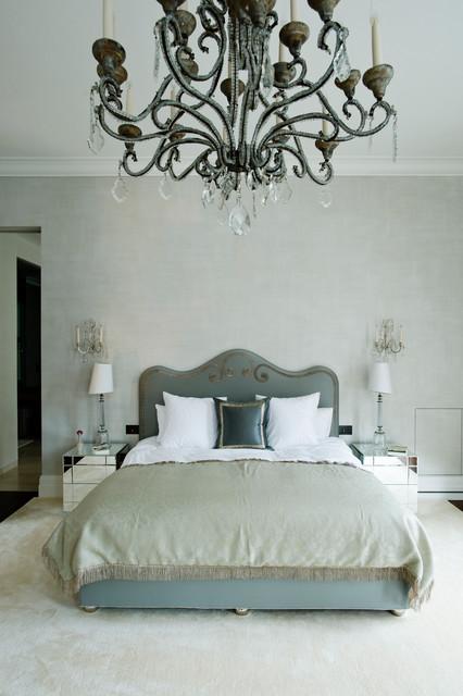 South Kensington House contemporary-bedroom