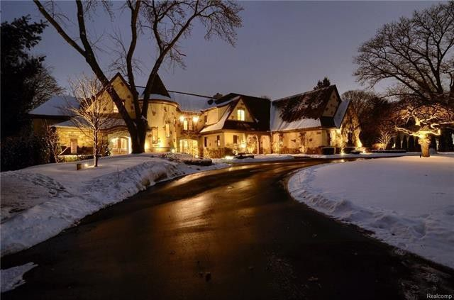 Jim Caldwell's Michigan home