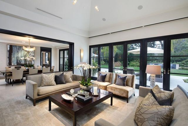 Ousted seagate ceo stephen luczo lists atherton estate for for B q living room doors
