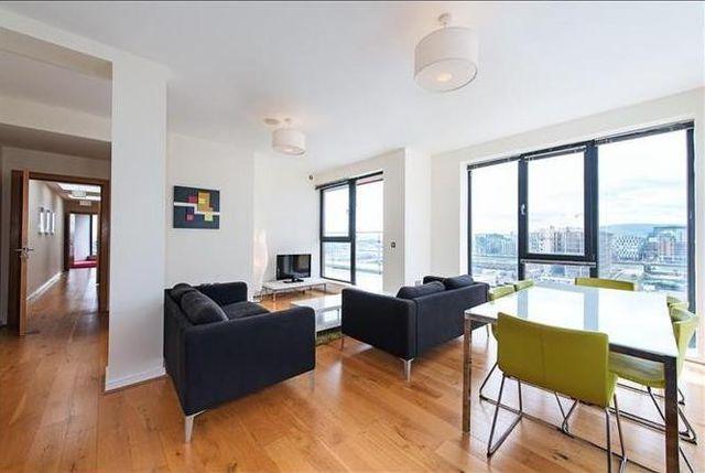 Docklands apartment interior
