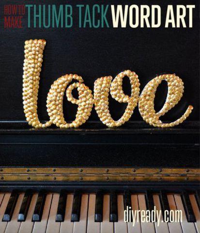 thumb tack art